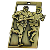 Rugby Scene Medals